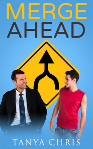 Cover for Merge Ahead by Tanya Chris