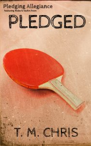 Cover for Pleding Allegiance features a ping pong paddle