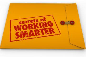 """Envelope says """"Secrets of working smarter"""""""