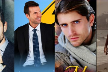shows four men who are heroes in Tanya Chris books