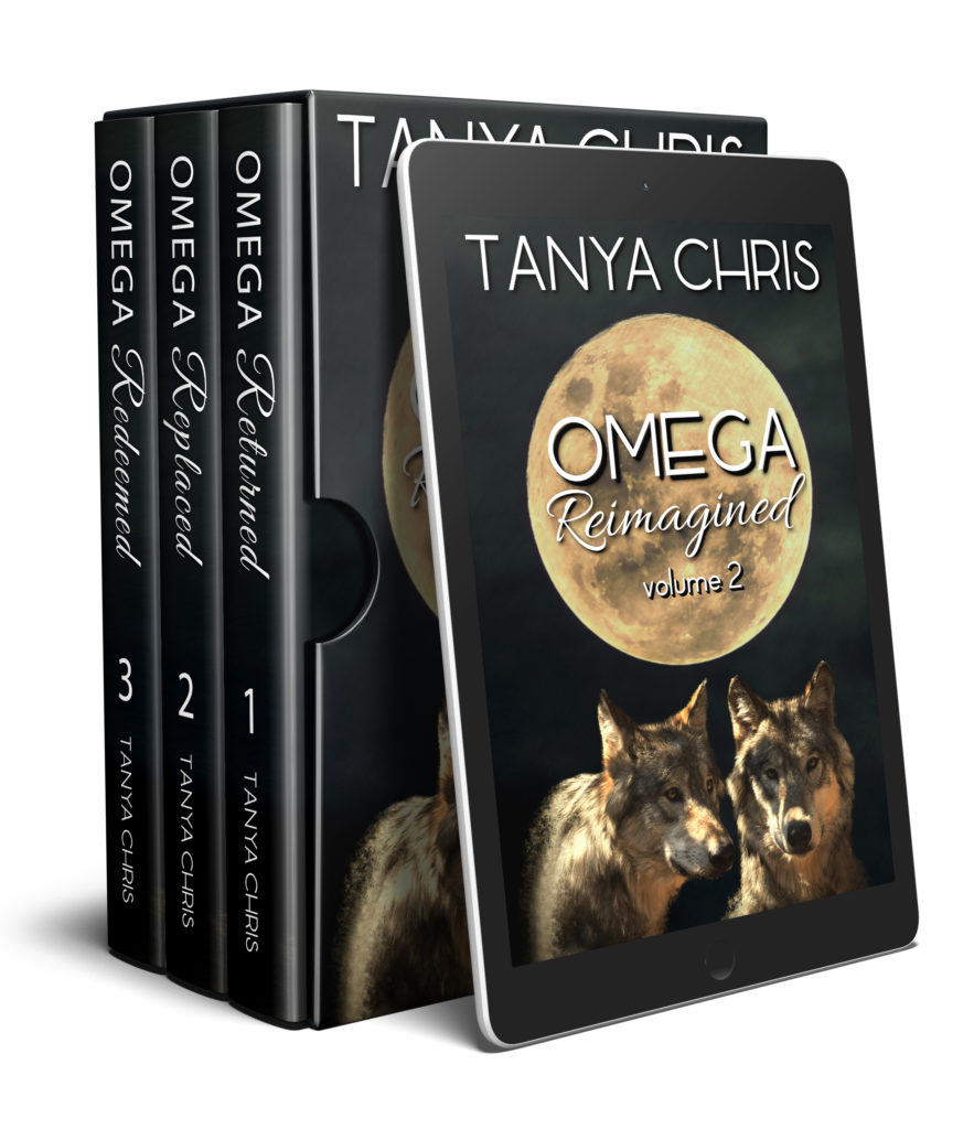 box set of Omega Reimagined volume 2 includes Omega Returned, Omega Replaced, and Omega Redeemed