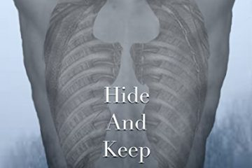Cover of Hiden and Keep by K. Sterling features a pair of wings tattooed on a man's back