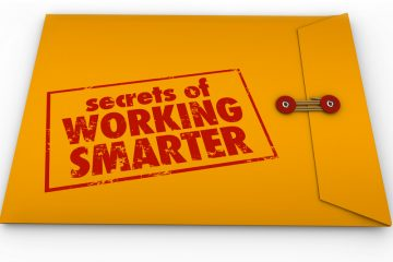 "Envelope says ""Secrets of working smarter"""