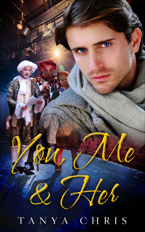 Cover for You, Me & Her by Tanya Chris