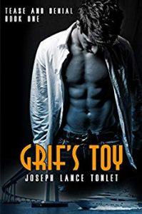 Cover of Grif's Toy by Joseph Lance Tonlet shows a shirtless man with his head down