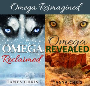 Covers for Omega Reclaimed and Omega Revealed under the banner Omega Reimagined