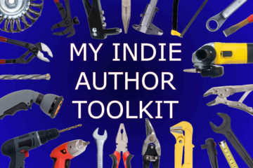 A variety of tools with the text My Indie Author Toolkit